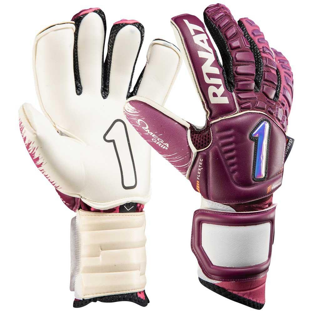 Rinat Egotiko Elemental Pro Goalkeeper Gloves 7 Maroon / White