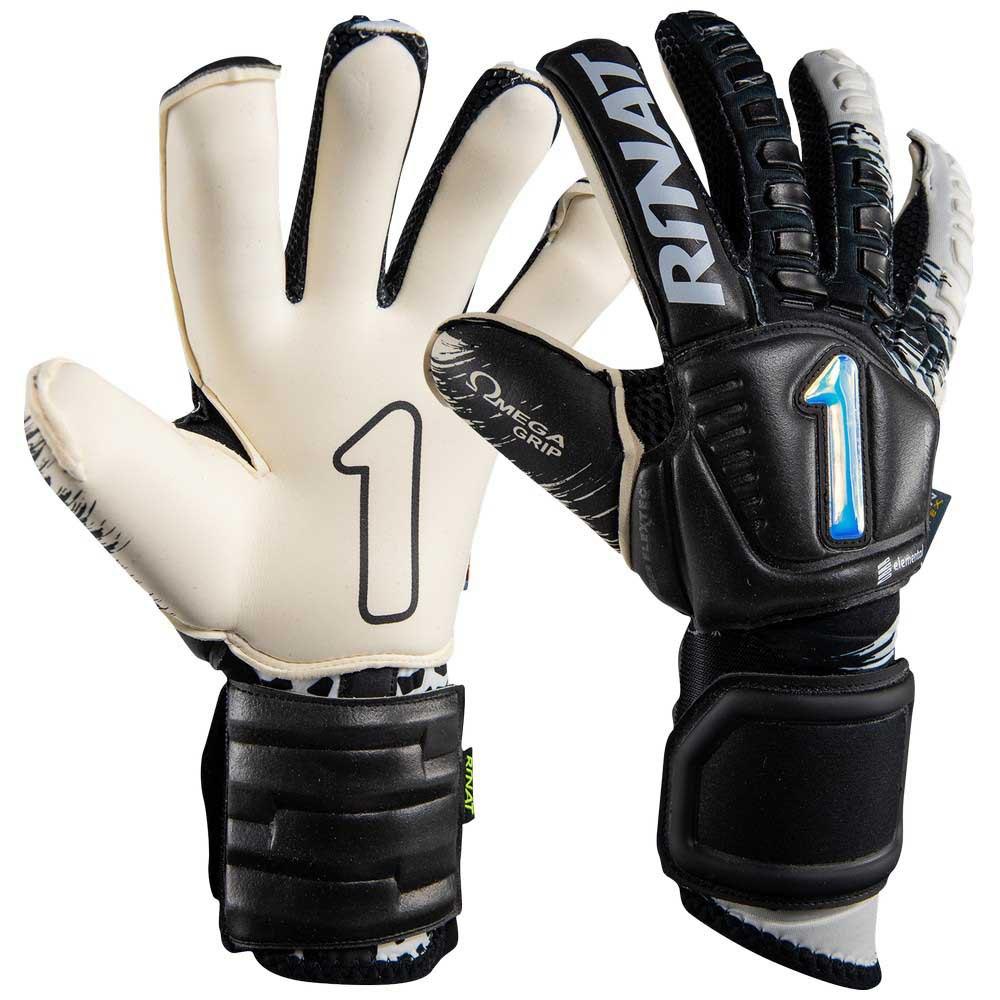 Rinat Egotiko Elemental Pro Goalkeeper Gloves 7 Black / White