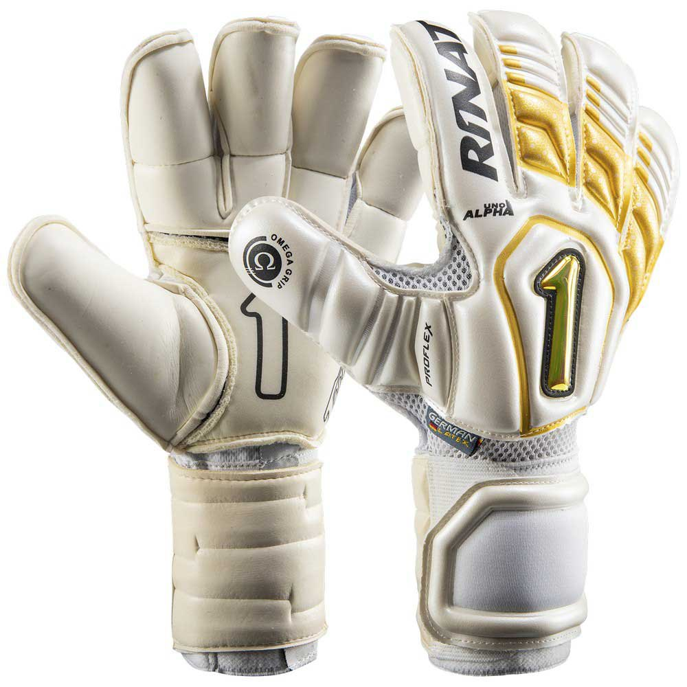 Rinat Uno Alpha Goalkeeper Gloves 5 White