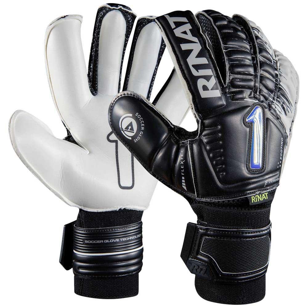 Rinat Egotiko Elemental Semi Goalkeeper Gloves 4 Black / White