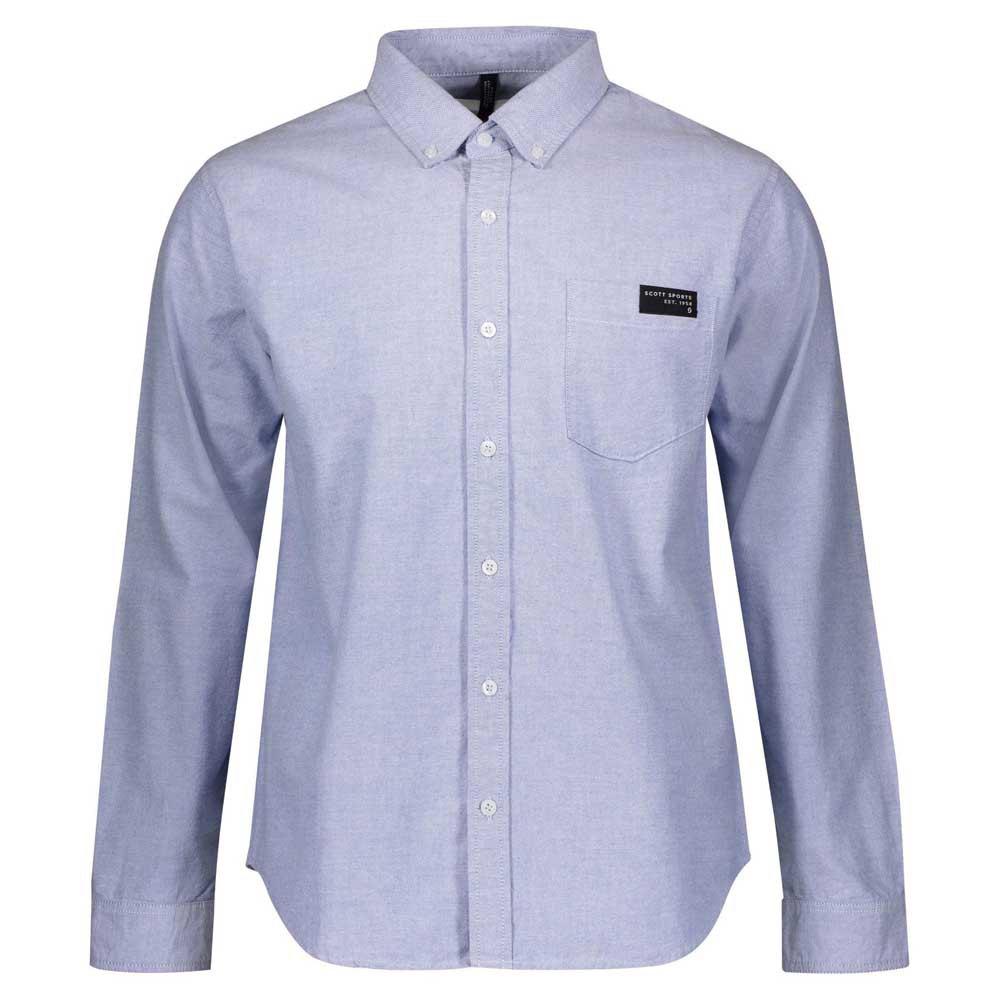 Scott 10 Casual L Blue Oxford