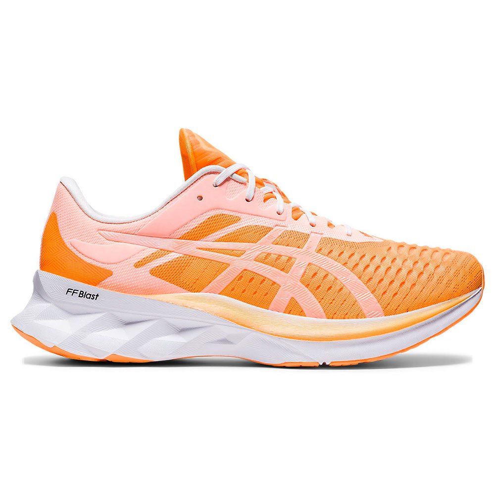 Asics Novablast EU 44 1/2 Orange Pop / White