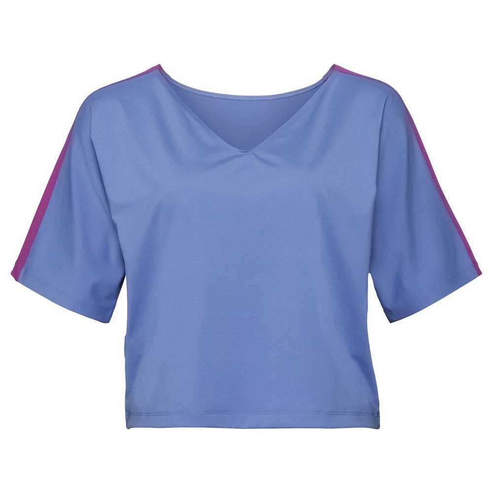 Odlo T-shirt Manche Courte Ultra Violet Spring L Persian Jewel