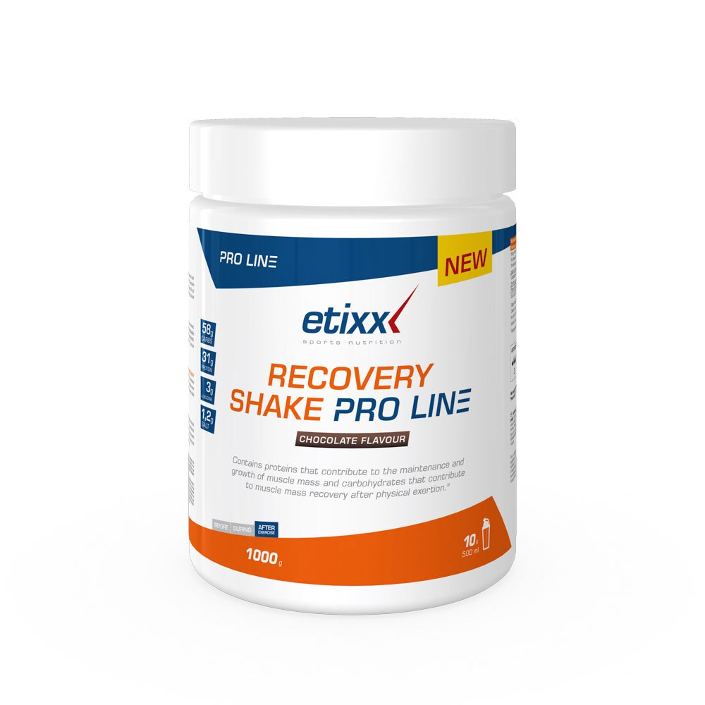 Etixx Recovery Shake Pro Line 1000gr Chocolate Orange / Blue