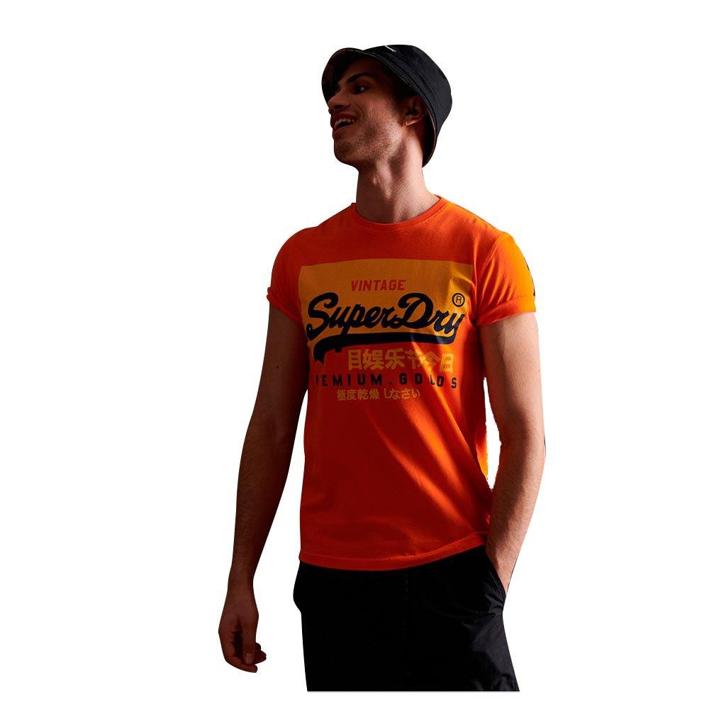Superdry Vintage Logo Organic XS Denver Orange