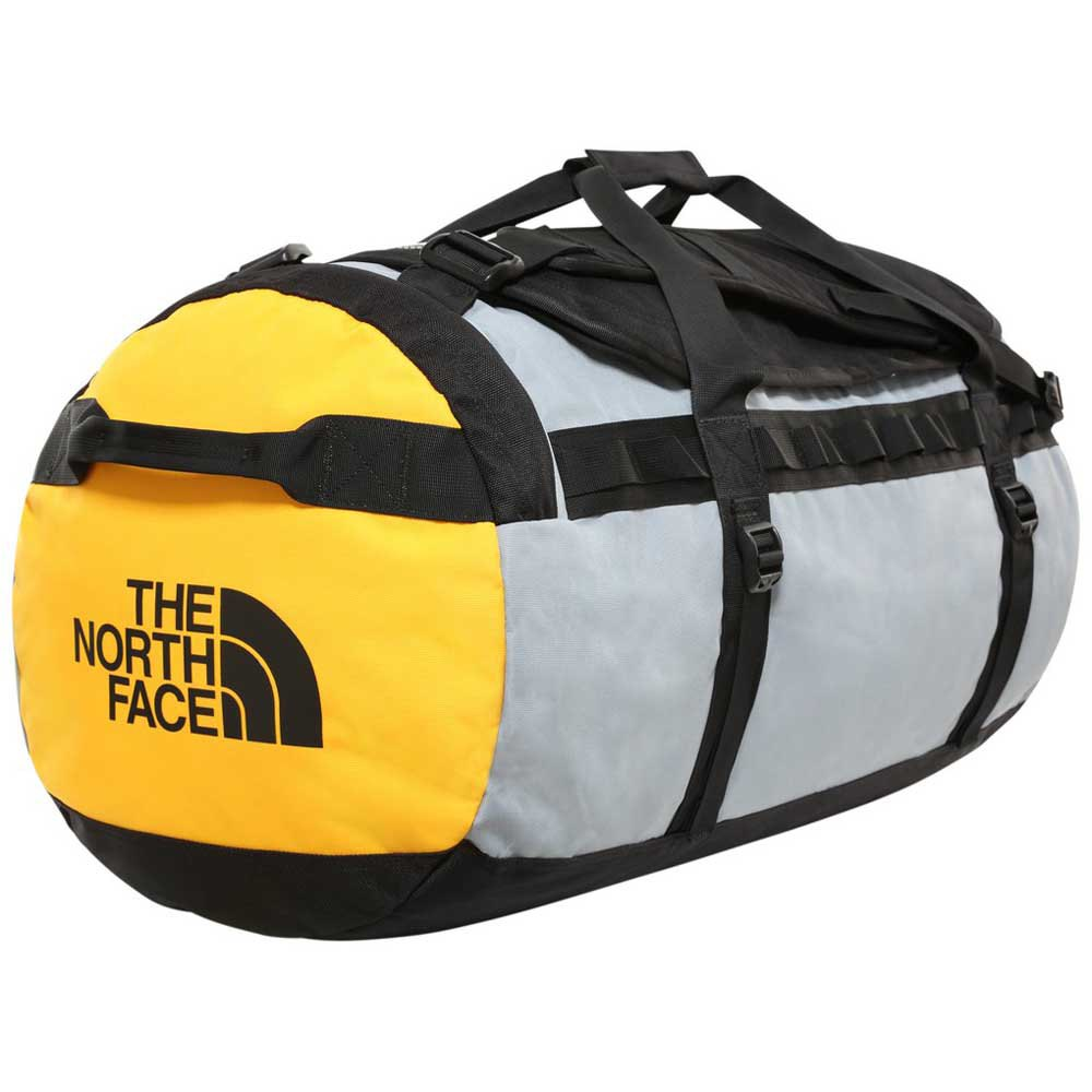 The North Face Gilman Duffel L One Size TNF Black / Mid Grey / TNF Yellow
