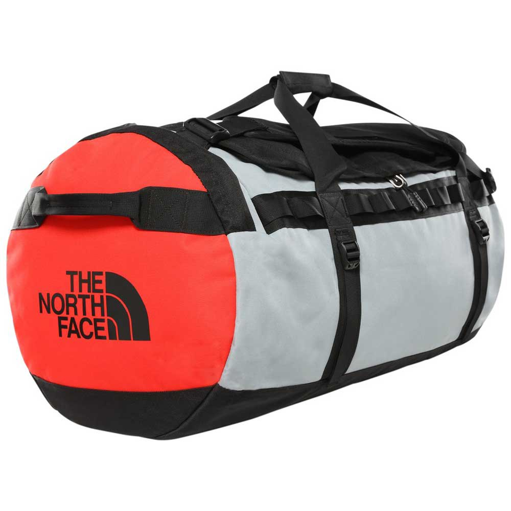 The North Face Gilman Duffel L One Size TNF Black / Mid Grey / Fiery Red
