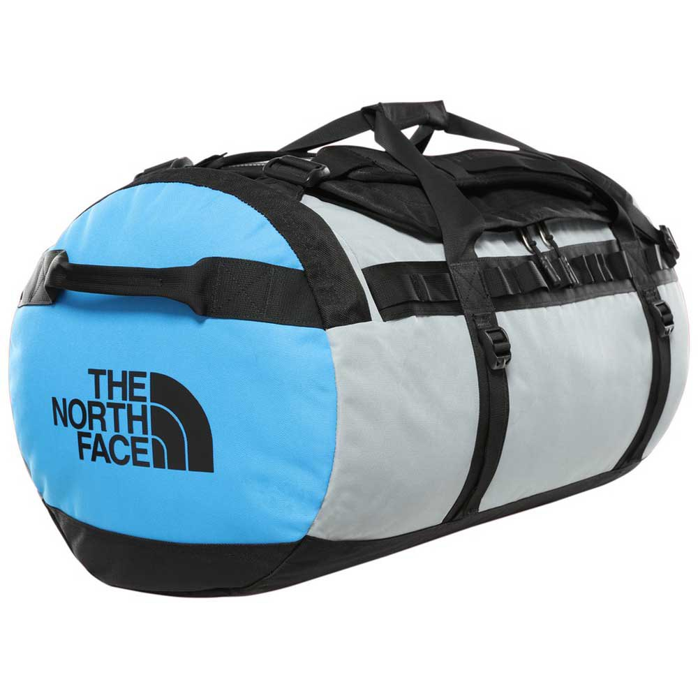 The North Face Gilman Duffel L One Size TNF Black / Mid Grey / Clear Lake Blue