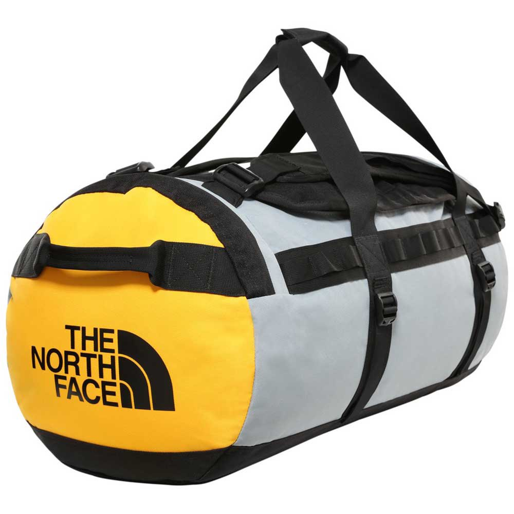 The North Face Gilman Duffel M One Size TNF Black / Mid Grey / TNF Yellow