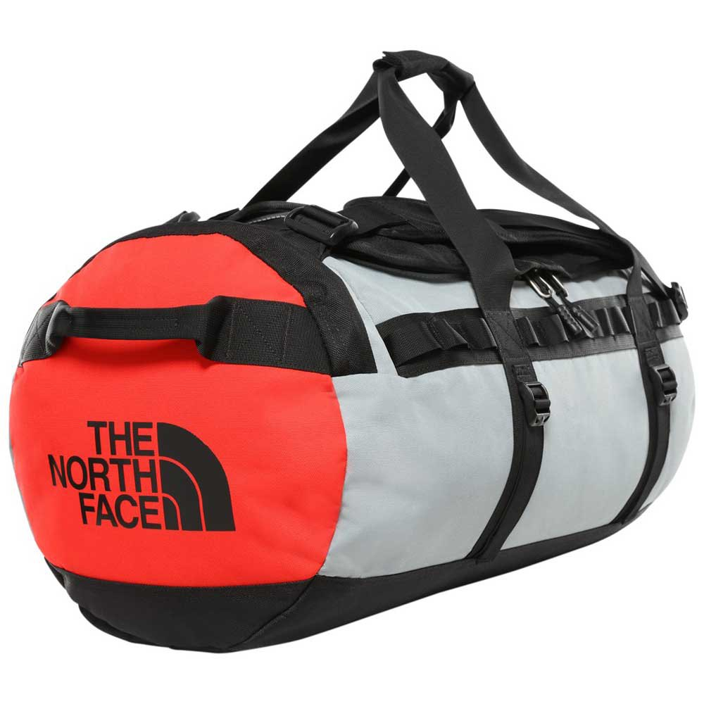 The North Face Gilman Duffel M One Size TNF Black / Mid Grey / Fiery Red