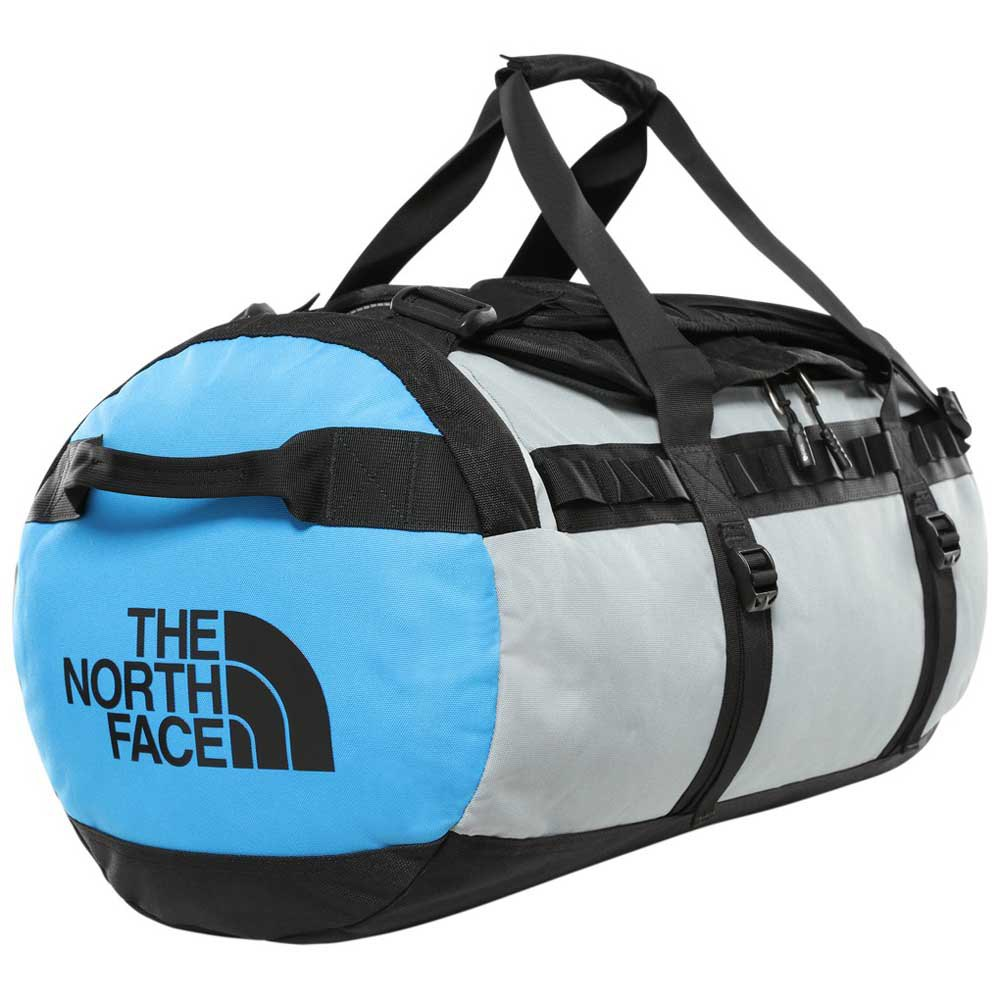 The North Face Gilman Duffel M One Size TNF Black / Mid Grey / Clear Lake Blue