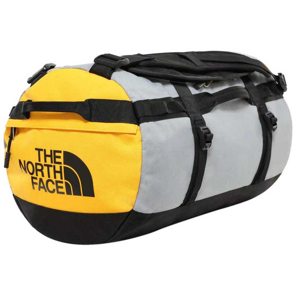The North Face Gilman Duffel S One Size TNF Black / Mid Grey / TNF Yellow