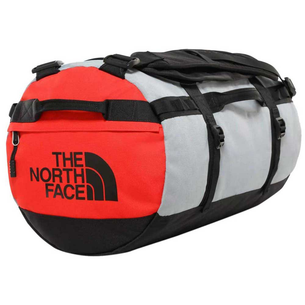 The North Face Gilman Duffel S One Size TNF Black / Mid Grey / Fiery Red