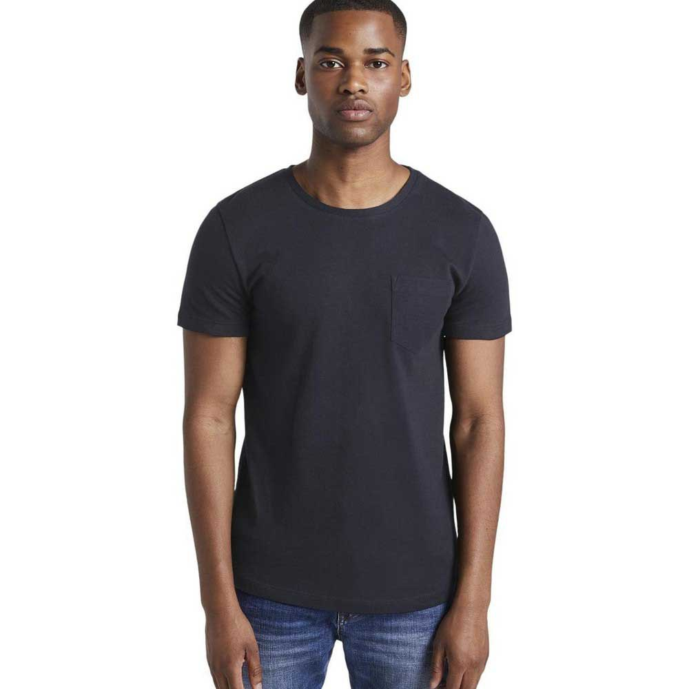 Tom Tailor Structured T-shirt M Sky Captain Blue Non-Solid