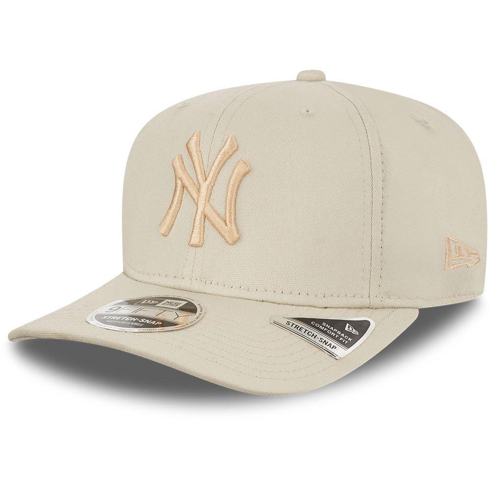New Era New York Yankees Mlb 950 Stretch Snap Adjustable M-L Med Beige