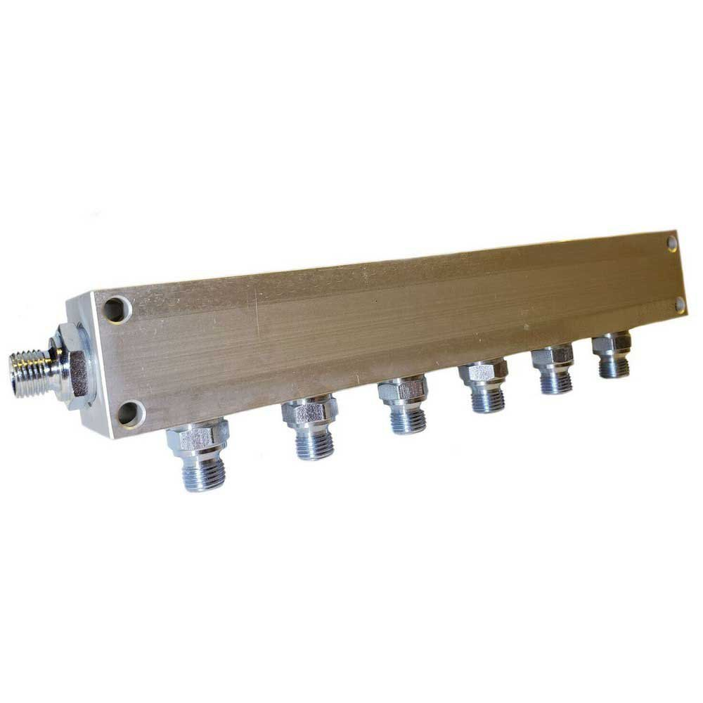 Zubehör und Ersatzteile Manifold Block Bauer Inlet G 1/4´´ 6 Outlets
