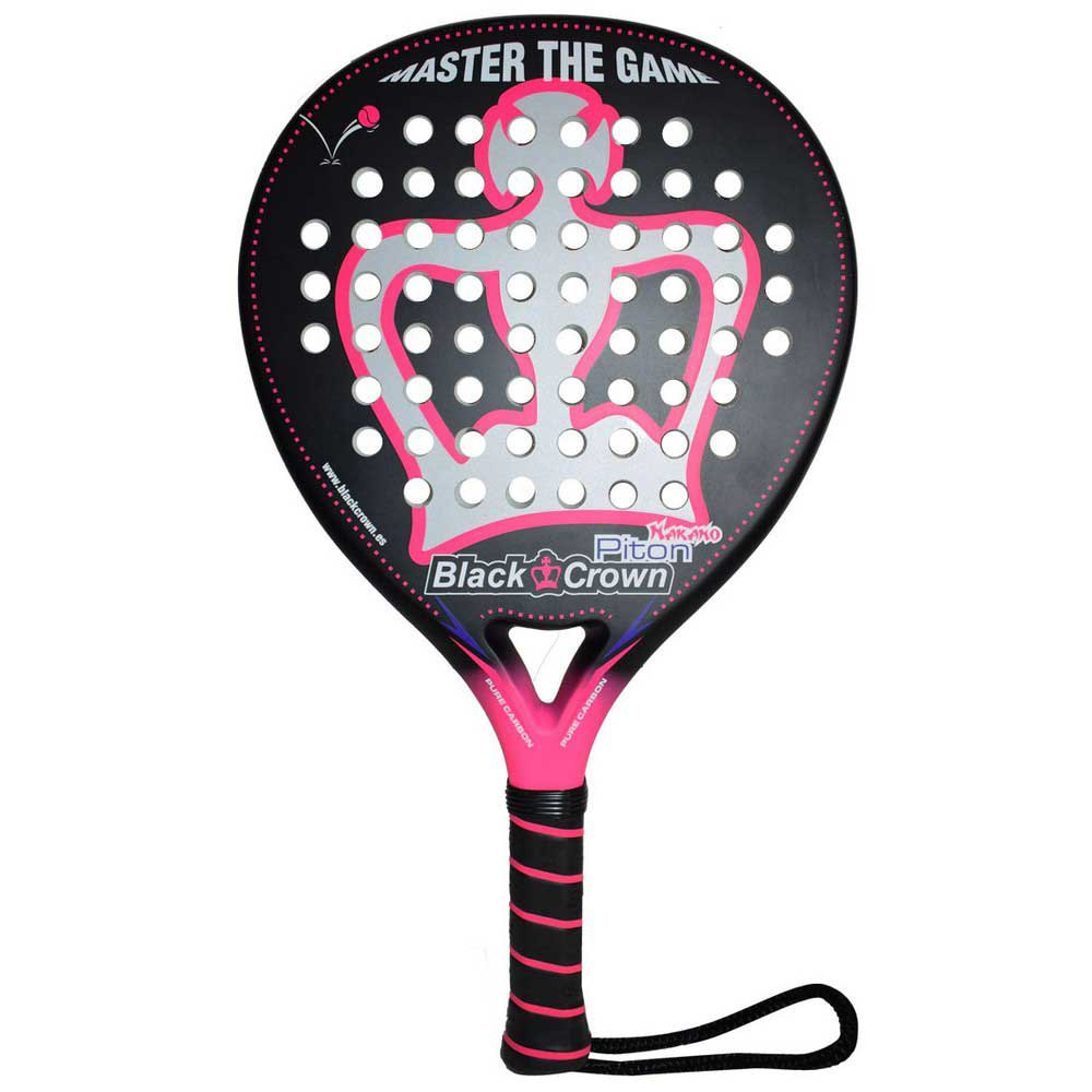 Black Crown Piton Nakano One Size Black / Pink / White