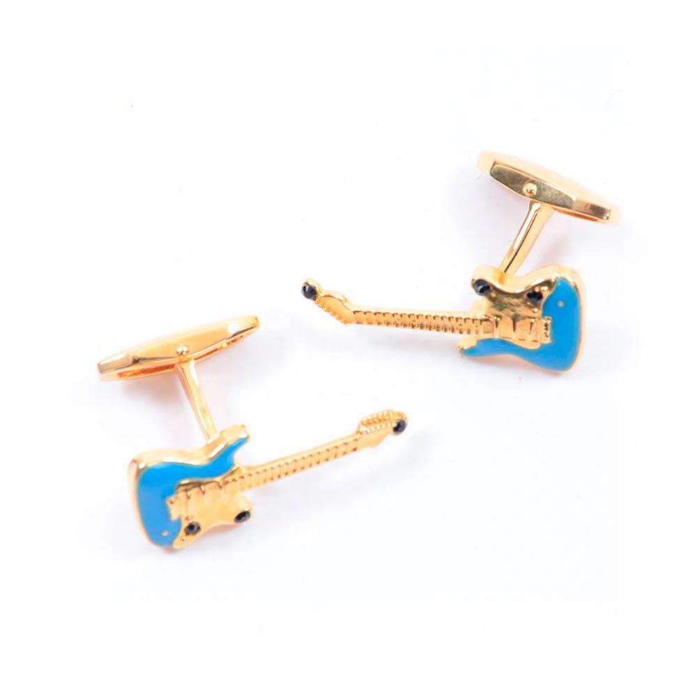 Dolce & Gabbana 727886/ Guitar Cufflinks One Size Gold