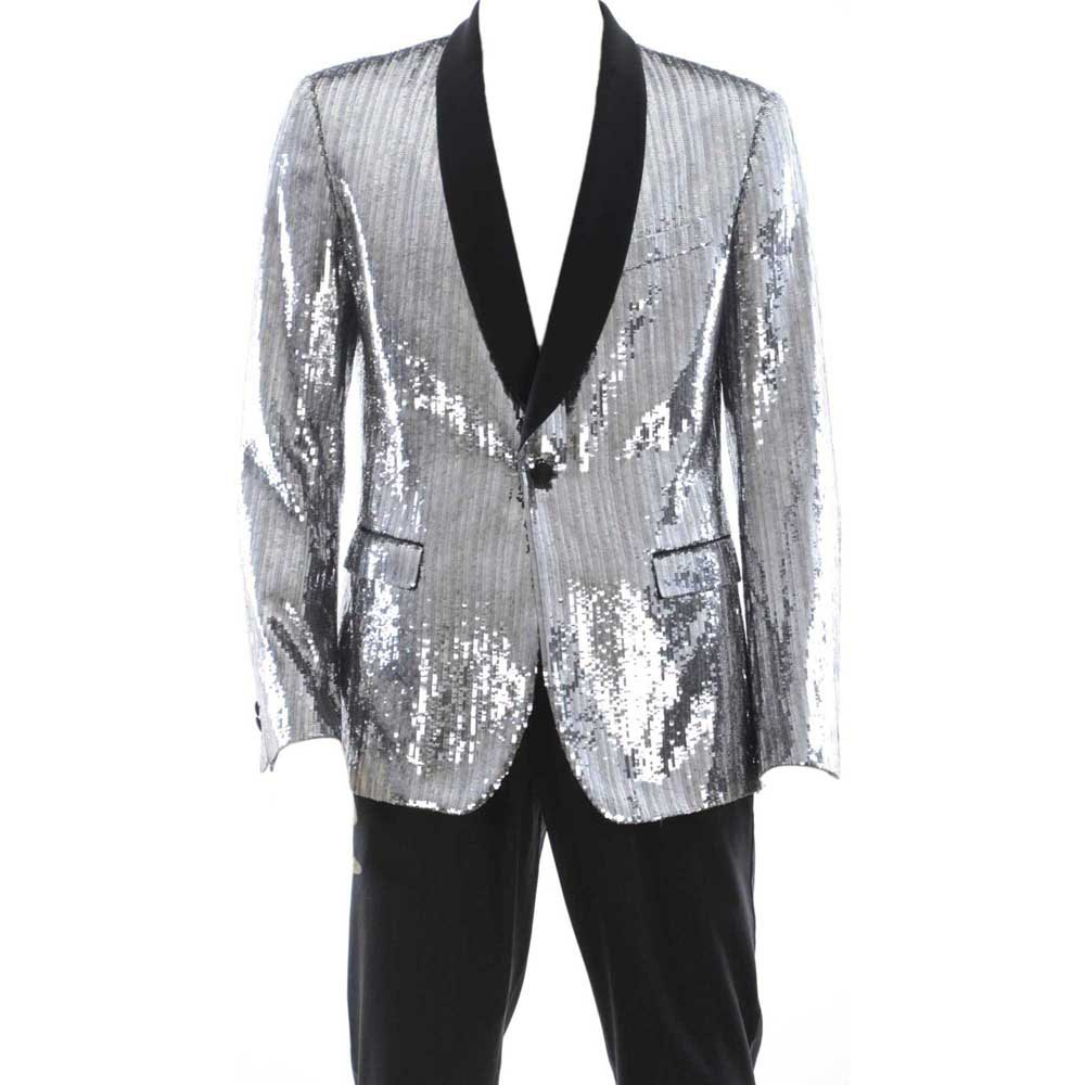 Dolce & Gabbana 732219/ Smoking Jacket 50 Silver