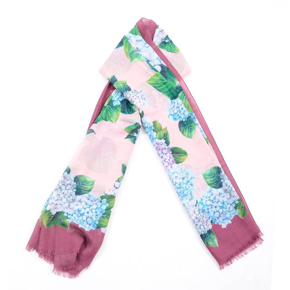 Dolce & Gabbana 732450/ Leopard Print Foulard One Size Pink