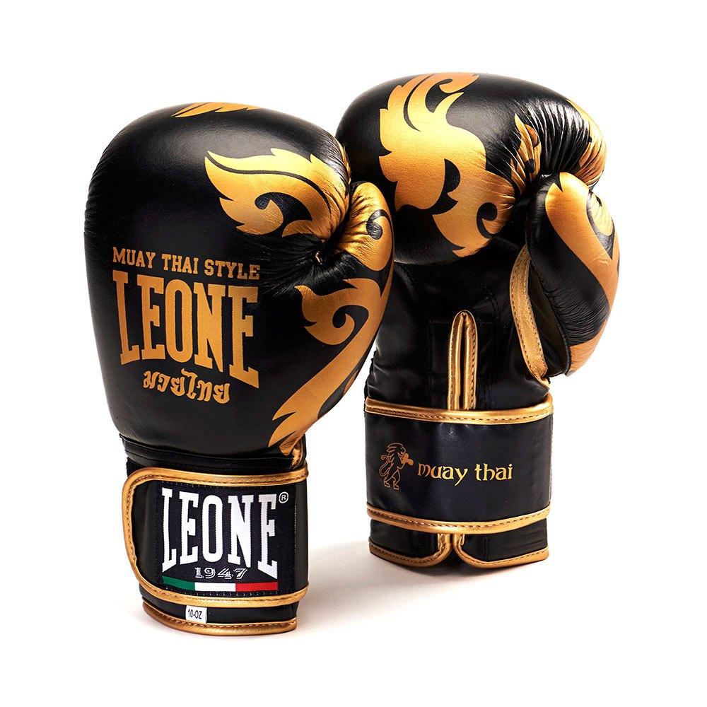 Leone1947 Muay Thai 10 Oz Black