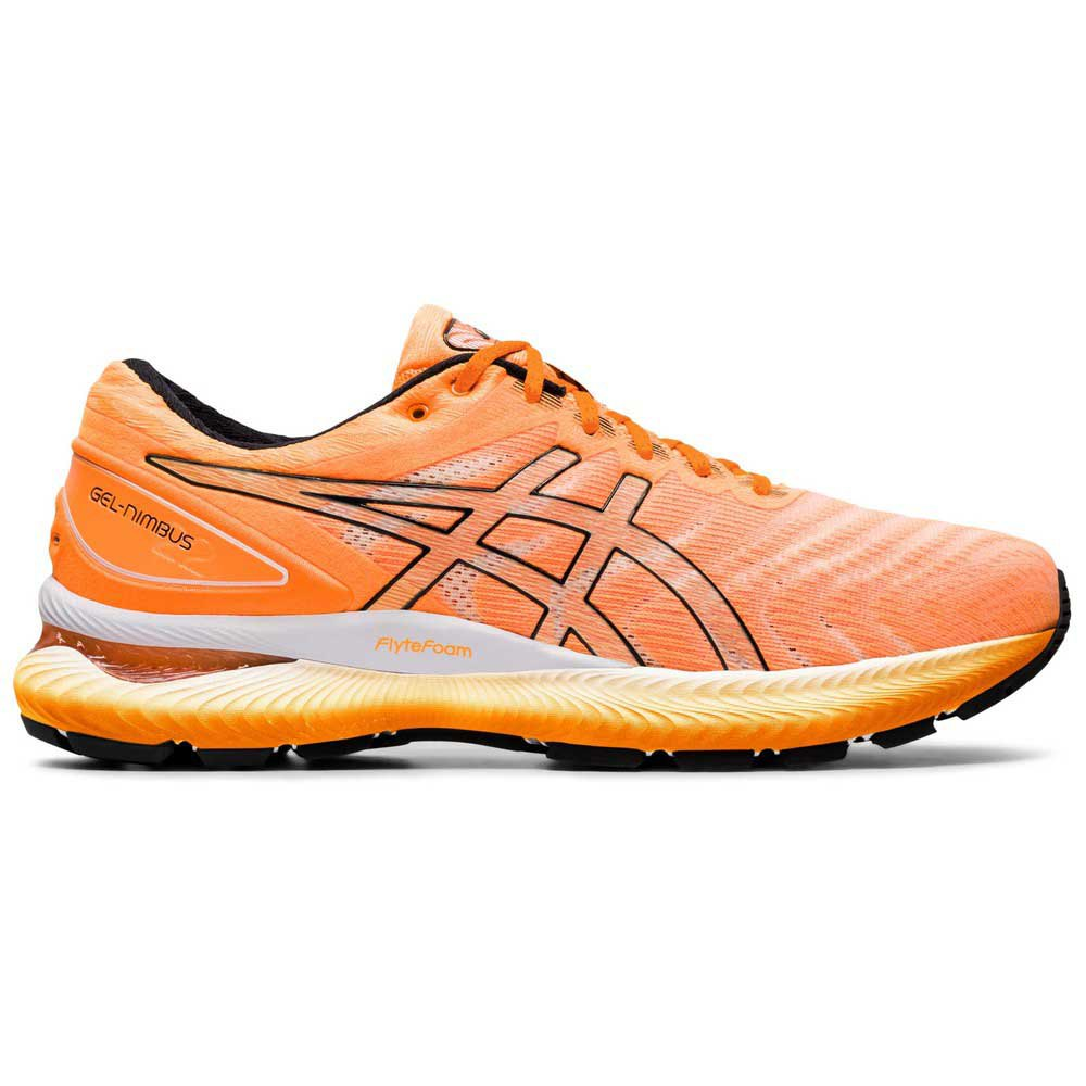 Asics Gel Nimbus 22 EU 44 1/2 Orange Pop / Black