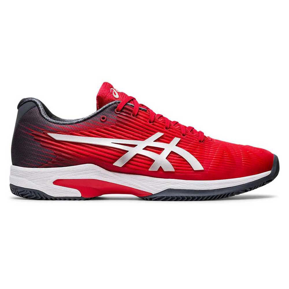 Asics Solution Speed Ff Clay EU 46 Classic Red / Pure Silver