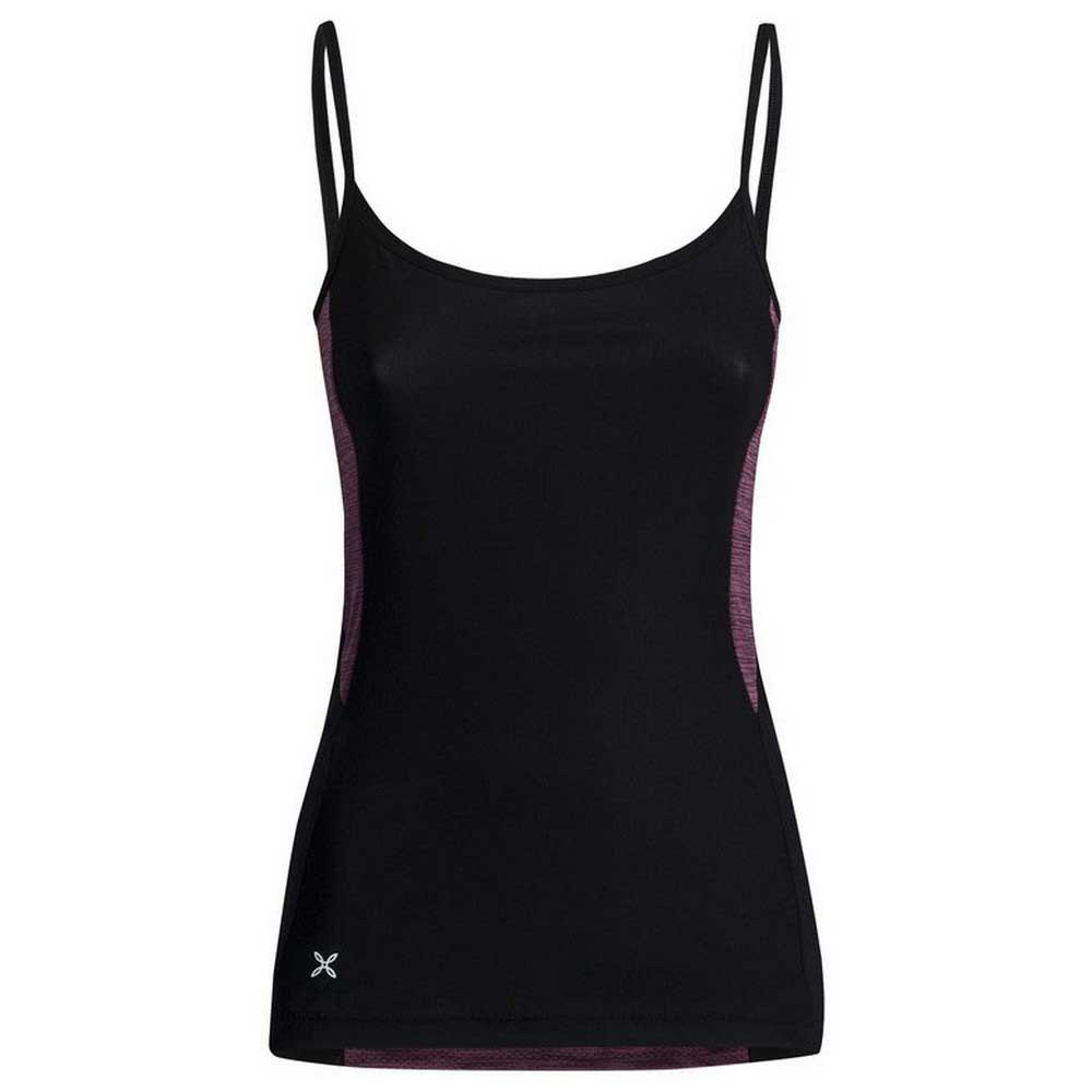 Montura T-shirt Sans Manches Sensi Mesh XS Black / Vinaccia