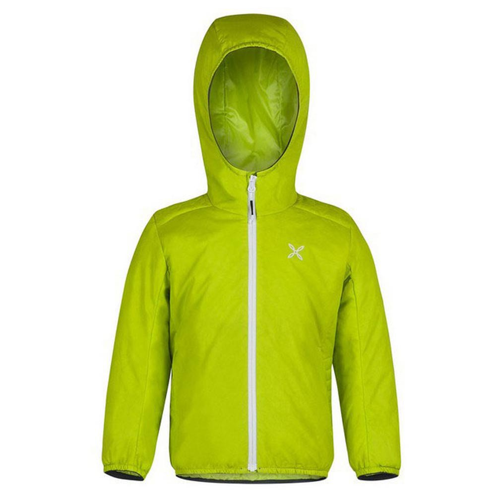 Montura 4 Season Hoody Baby 105 cm Lime Green / White