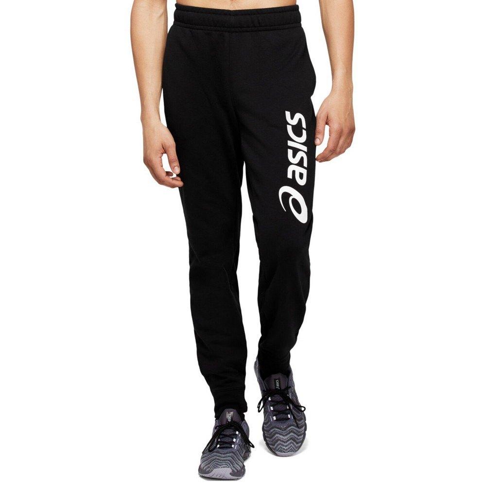 Asics Pantalon Longue Big Logo XXL Performance Black / Brilliant White