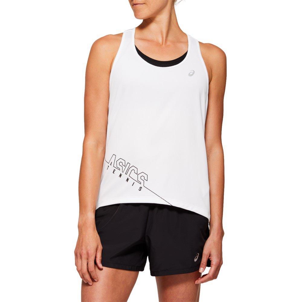 Asics T-shirt Sans Manches Practice Gpx L Brilliant White