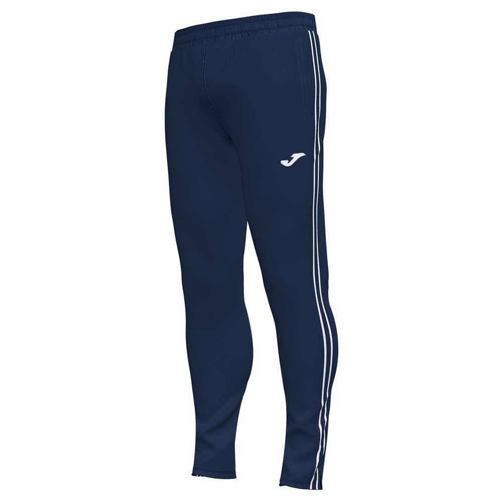 Joma Pantalon Longue Classic 9-10 Years Dark Navy / White