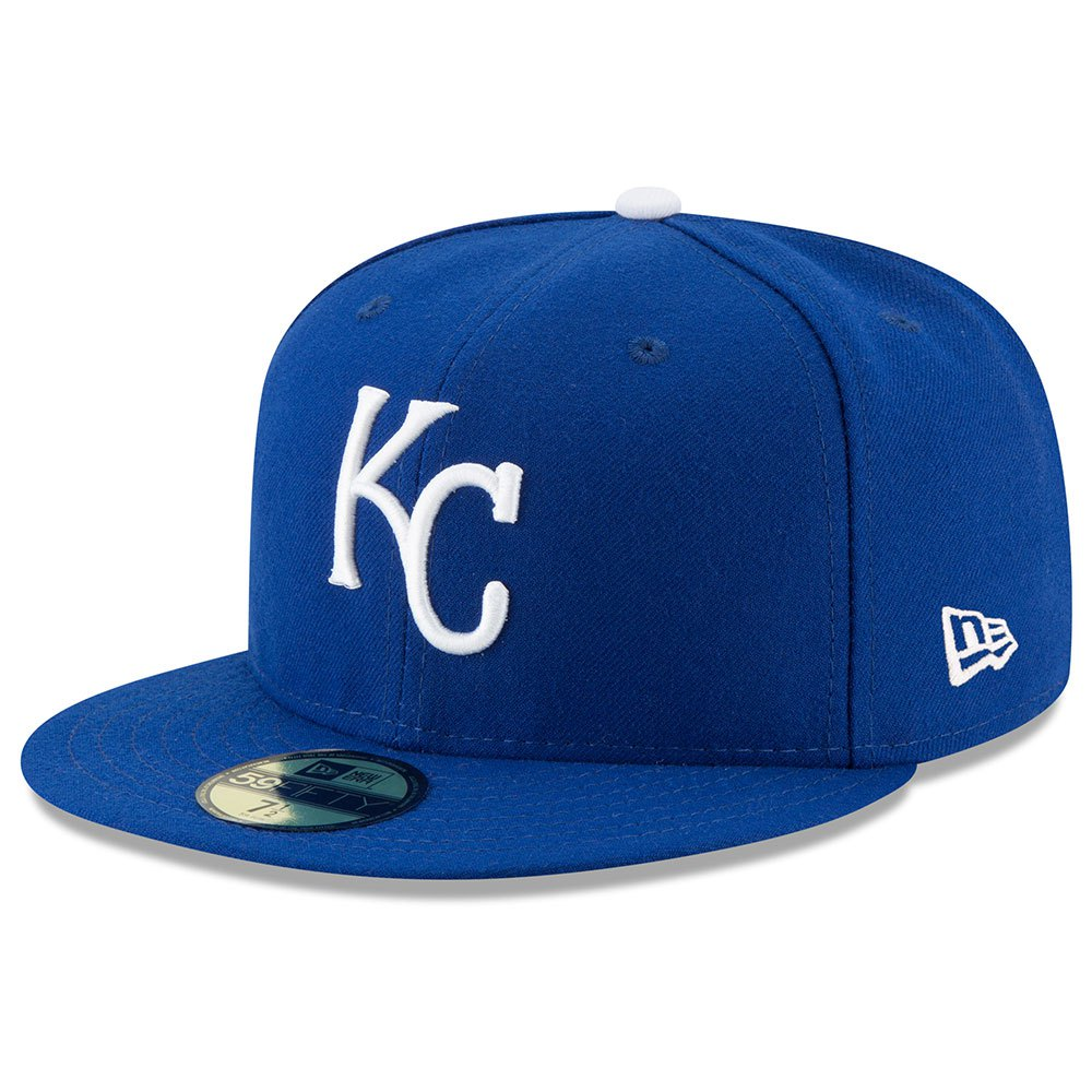 New Era Kansas City Royals Mlb Authentic Collection 59fifty 7 1/4 Blue / Blue