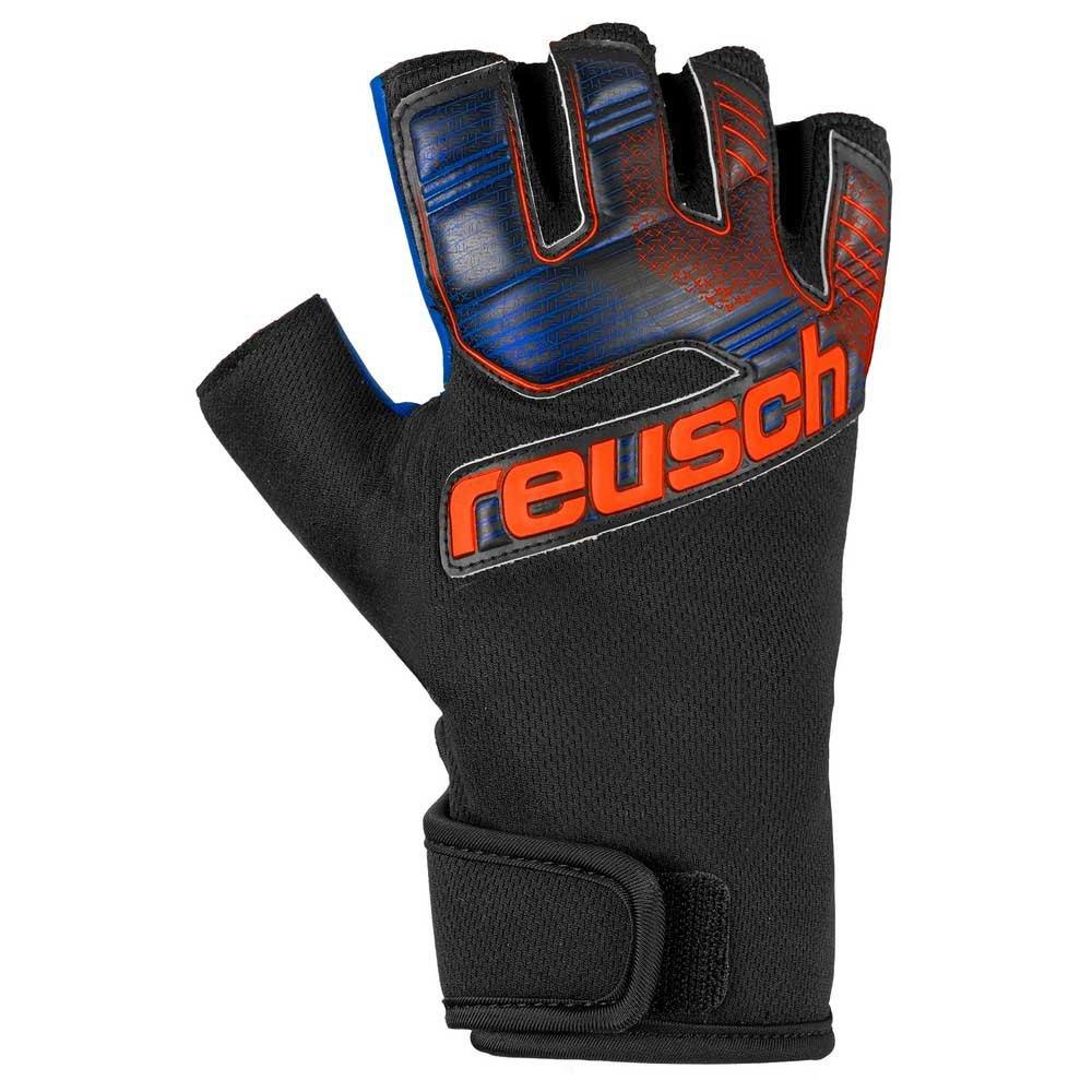 Reusch Gants Gardien Futsal Sg Sfx 10 Black / Shocking Orange / Deep Blue