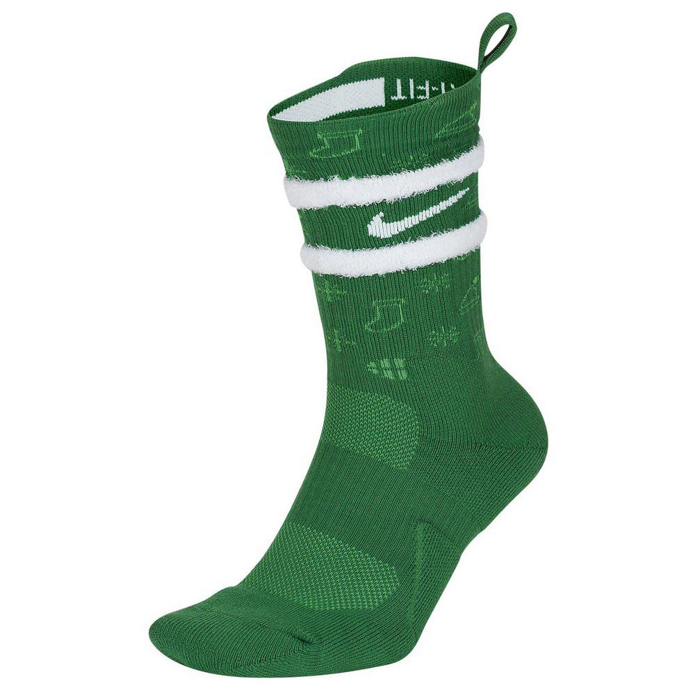 Nike Elite Crew Xmas XL Clover / Gym Green / White