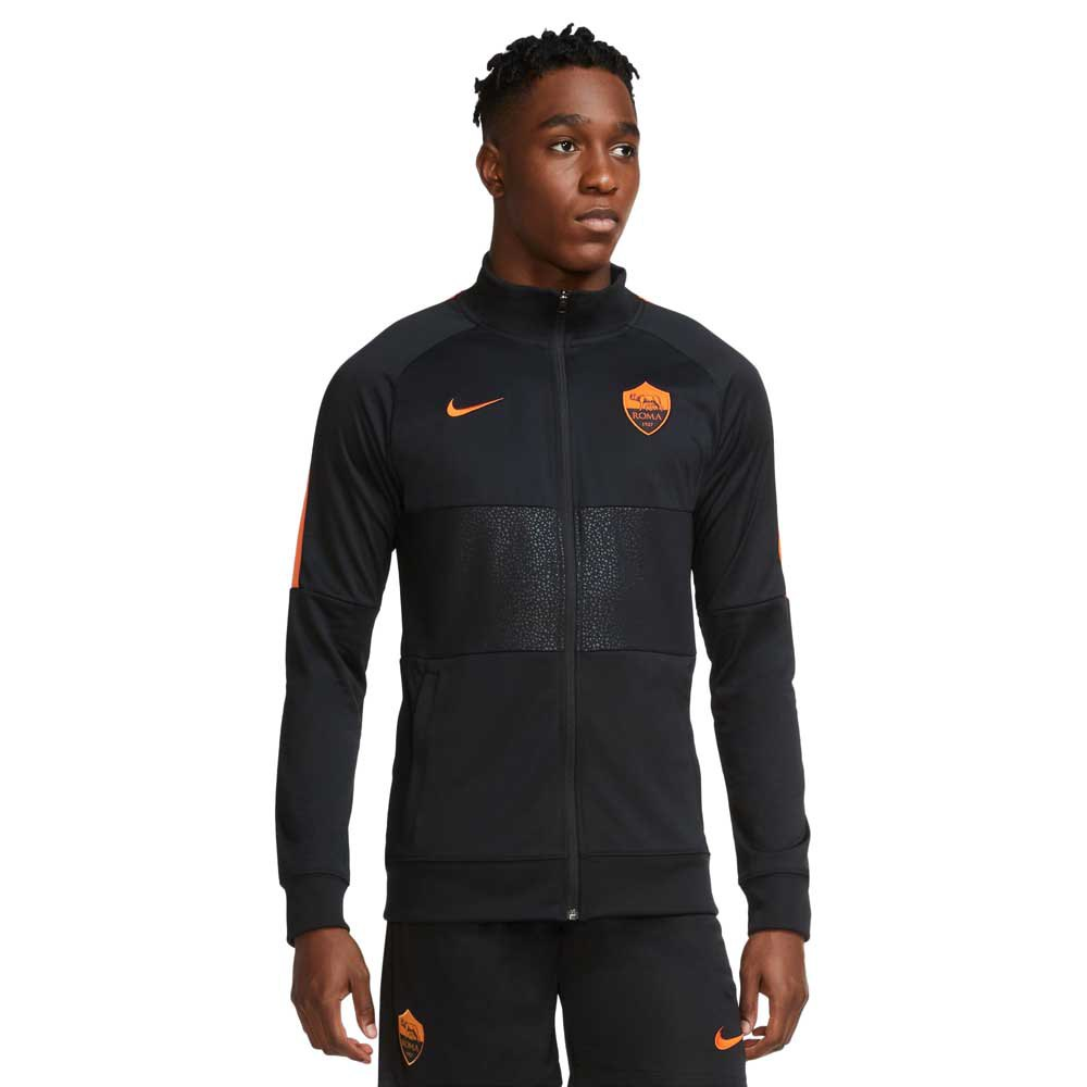 Nike As Roma 20/21 XL Black / Black / Safety Orange / Safety Orange