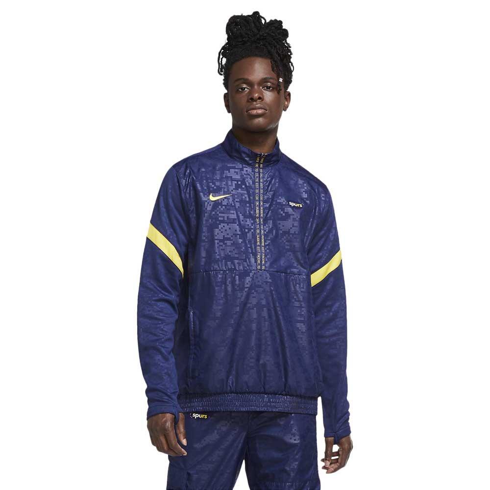 Nike Blouson Tottenham Hotspur Fc 20/21 S Binary Blue / Tour Yellow / Tour Yellow