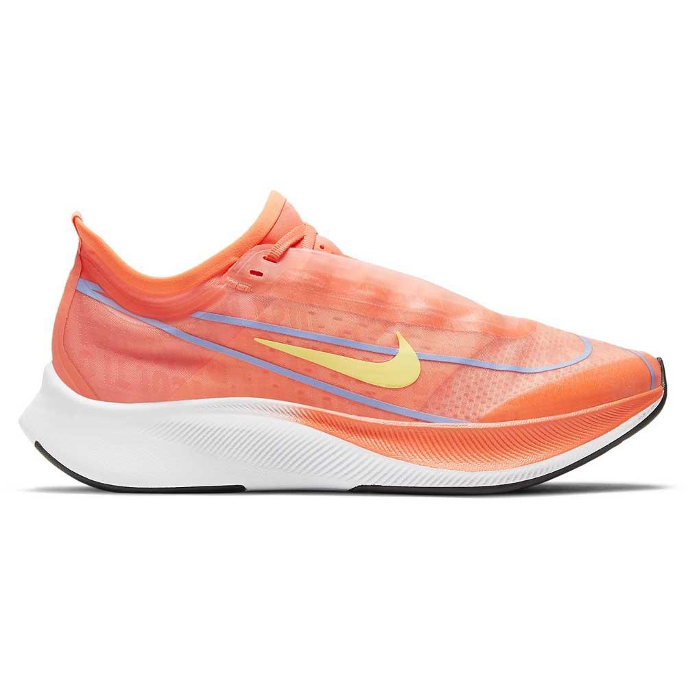 Nike Zoom Fly 3 EU 35 1/2 Bright Mango / Lt Zitron / Purple Pulse