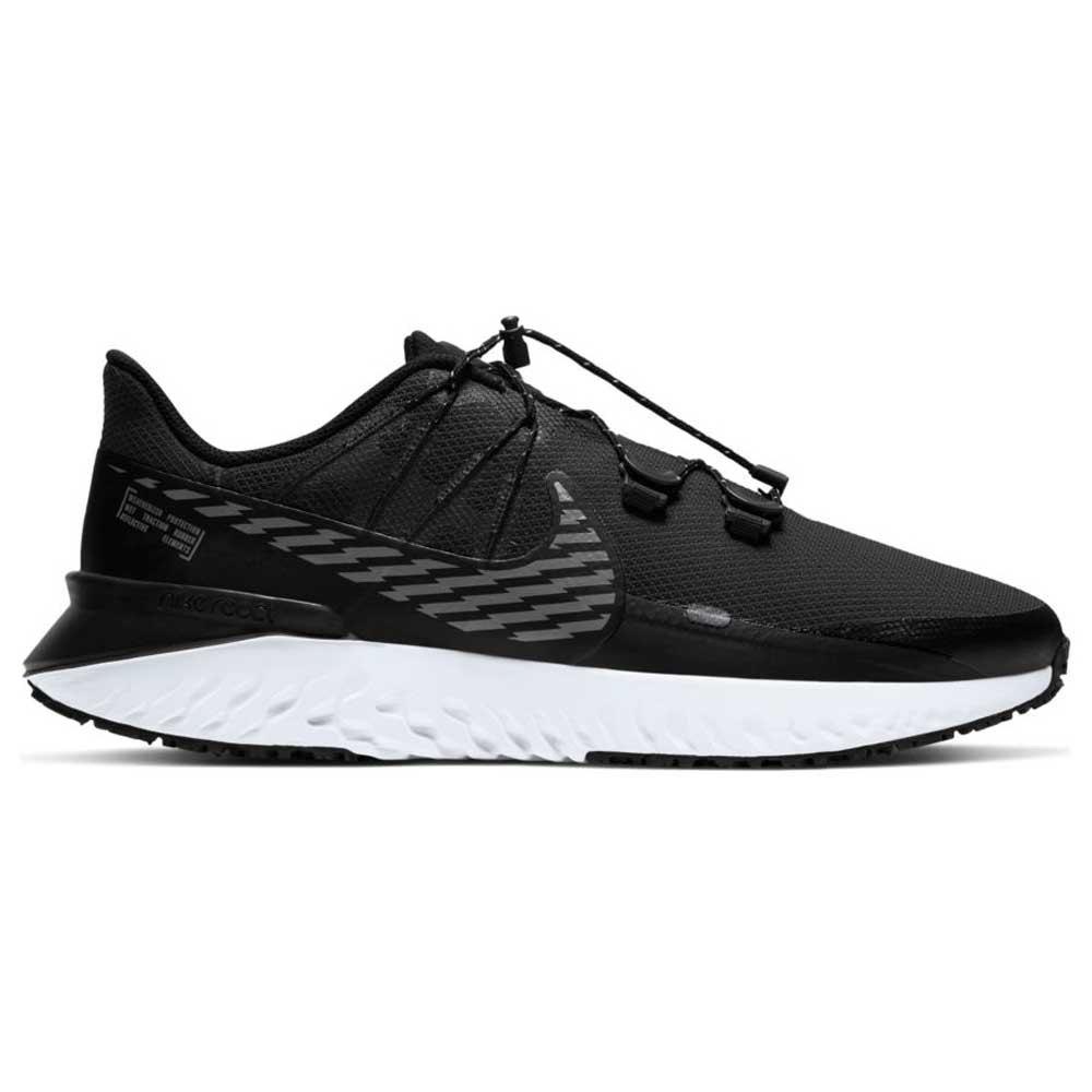Nike Legend React 3 Shield EU 43 Black / Mtlc Dark Grey / Dk Smoke Grey / White