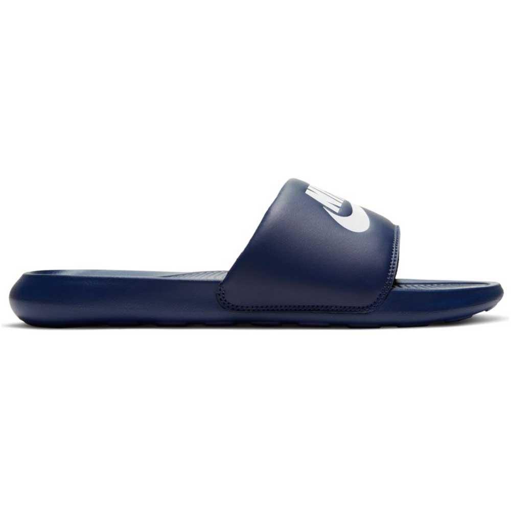 Nike Tongs Victori One EU 51 1/2 Midnight Navy / White / Midnight Navy