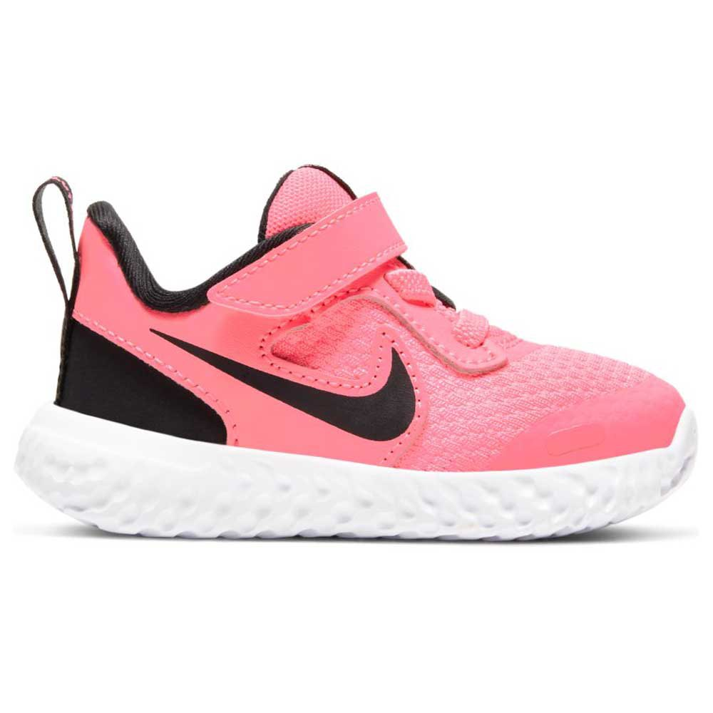 Nike Revolution 5 Tdv EU 17 Sunset Pulse / Black / White