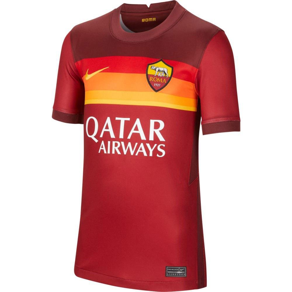Nike T-shirt As Roma Domicile Stadium 20/21 Junior XL Team Crimson / University Gold