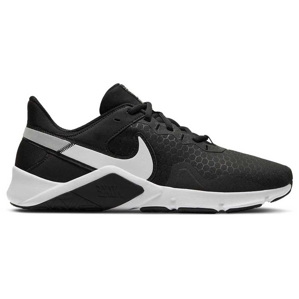 Nike Legend Essential 2 EU 43 Black / White / Metallic Silver