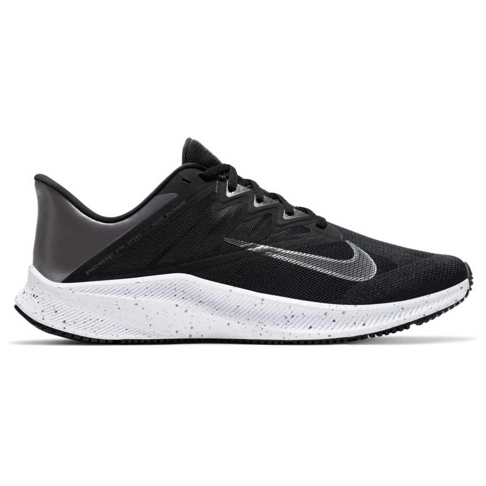 Nike Quest 3 Premium EU 45 Black / Mtlc Dark Grey / Smoke Grey / White