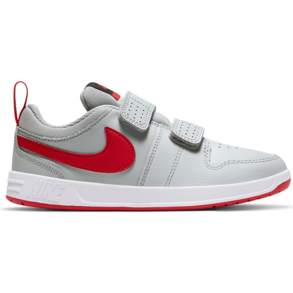 Nike Pico 5 Psv EU 31 1/2 Lt Smoke Grey / University Red