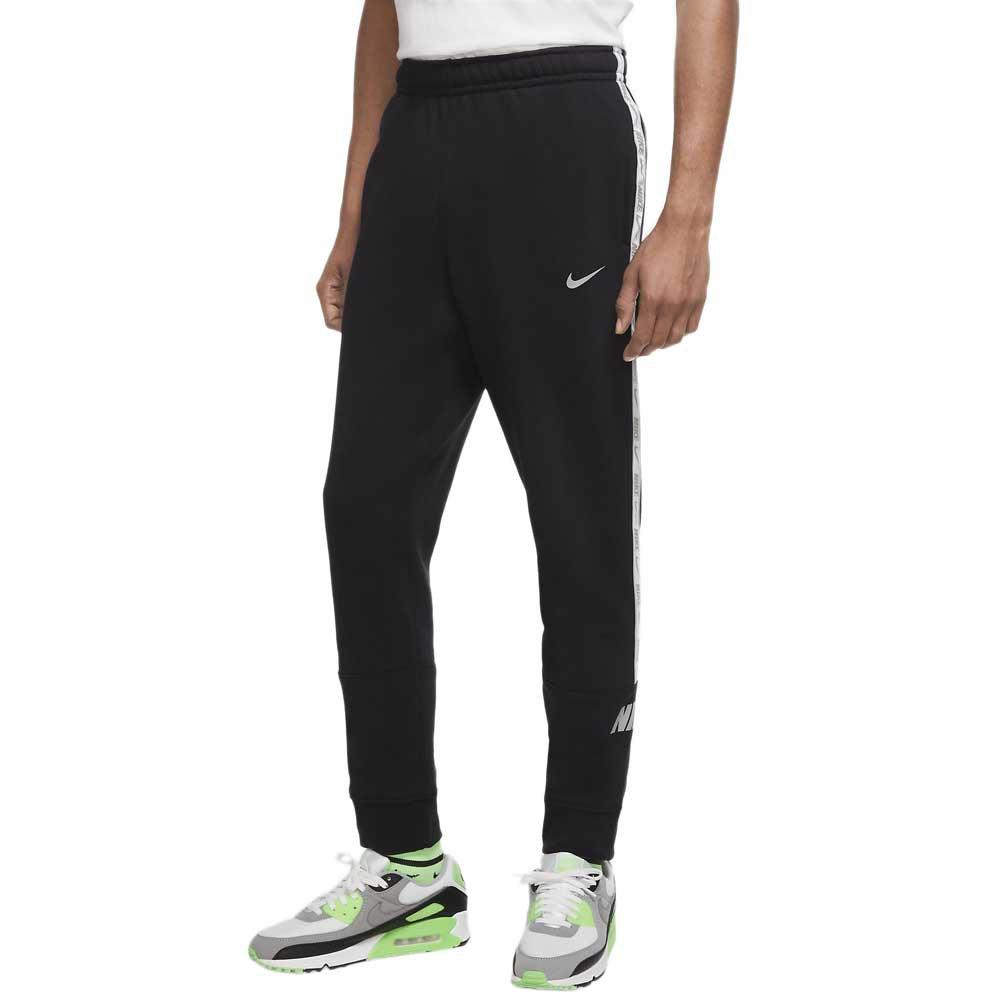 Nike Sportswear Repeat Fleece Jogger Bb XXL Black / Reflective Silver