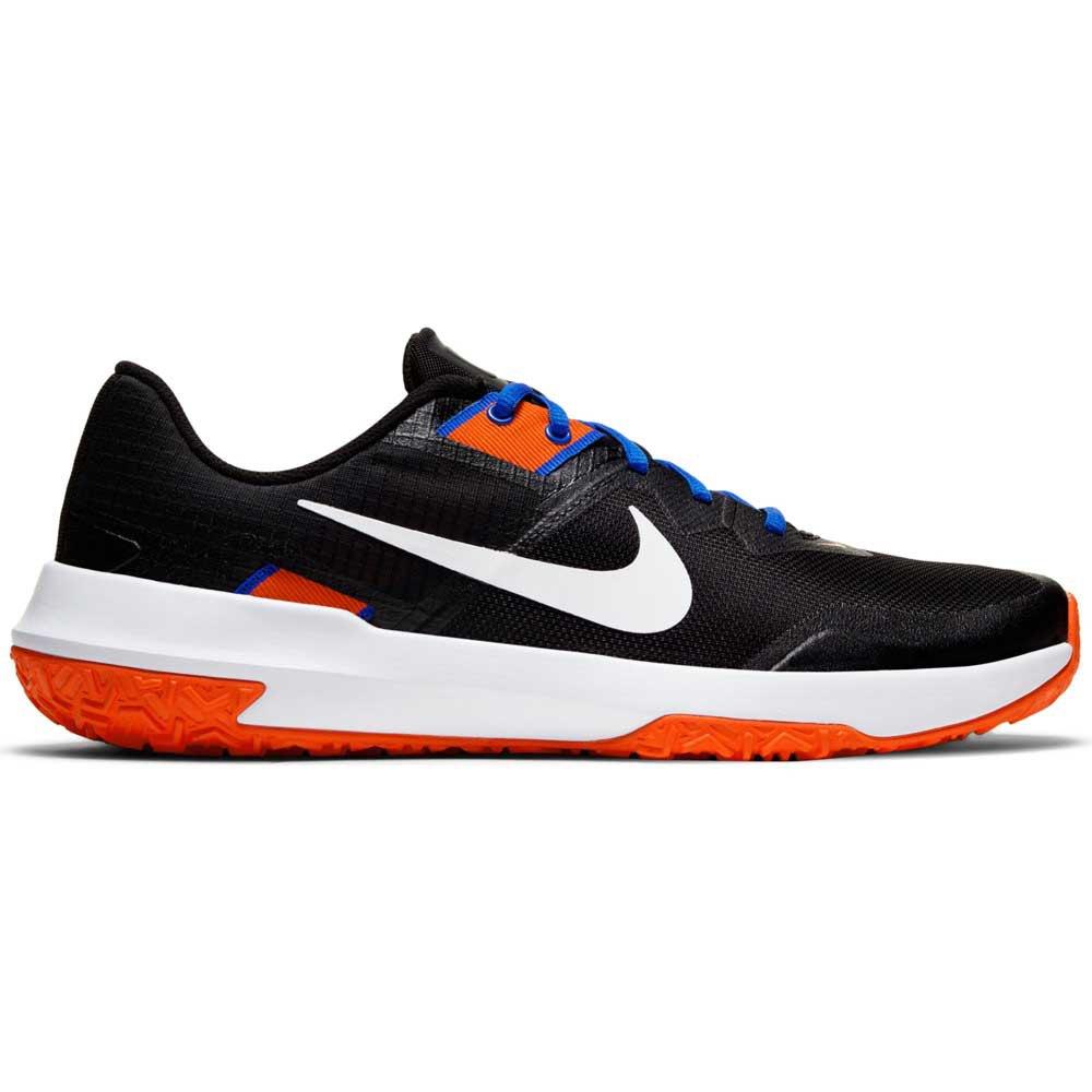 Nike Varsity Compete Tr 3 EU 45 1/2 Black / White / Racer Blue / Team Orange
