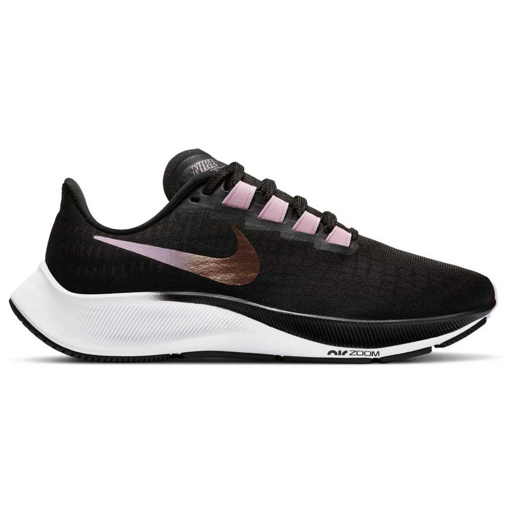 Nike Air Zoom Pegasus 37 EU 38 Black / Mtlc Red Bronze / Lt Arctic Pink