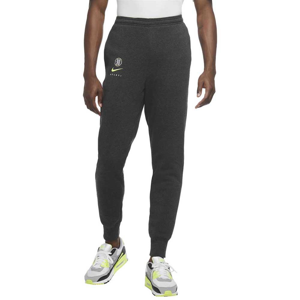 Nike Atletico Madrid 20/21 XL Black Heather / Volt