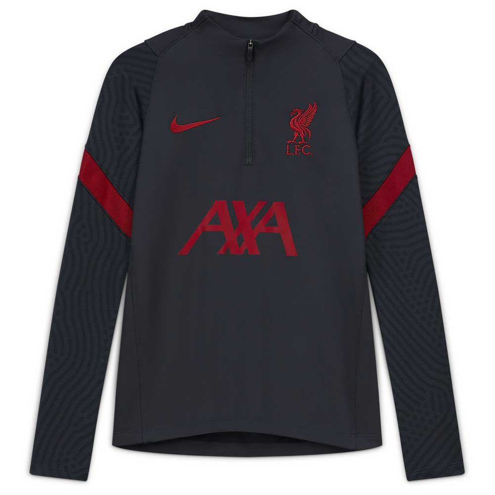 Nike Liverpool Fc Dry Strike 20/21 Junior XS Anthracite / Gym Red / Gym Red